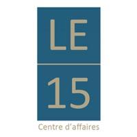 Logo Le15, domiciliation d'entreprise Lyon