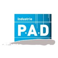 Logo P.A.D Industries, peinture industrielle